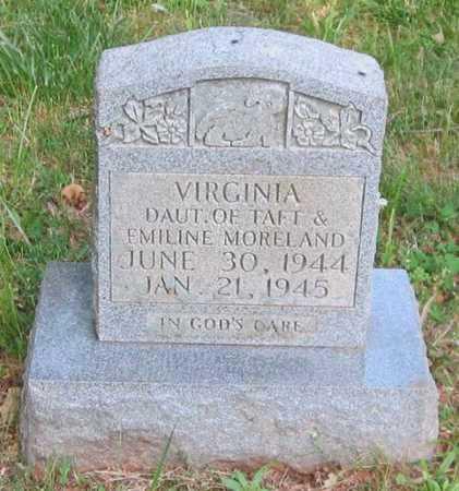 MORELAND, VIRGINIA - Clinton County, Kentucky | VIRGINIA MORELAND - Kentucky Gravestone Photos