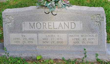 ELMORE MORELAND, LAURA ADEL - Clinton County, Kentucky | LAURA ADEL ELMORE MORELAND - Kentucky Gravestone Photos