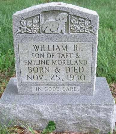 MORELAND, WILLIAM R - Clinton County, Kentucky   WILLIAM R MORELAND - Kentucky Gravestone Photos