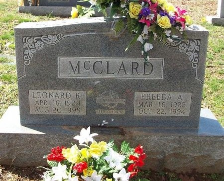 MCCLARD, FREEDA ALICE - Clinton County, Kentucky | FREEDA ALICE MCCLARD - Kentucky Gravestone Photos