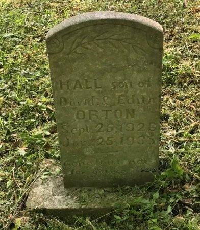 ORTON, HALL - Clinton County, Kentucky | HALL ORTON - Kentucky Gravestone Photos