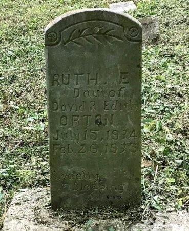 ORTON, RUTH - Clinton County, Kentucky | RUTH ORTON - Kentucky Gravestone Photos