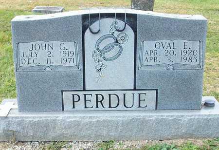 PERDUE, JOHN GEORGE - Clinton County, Kentucky | JOHN GEORGE PERDUE - Kentucky Gravestone Photos