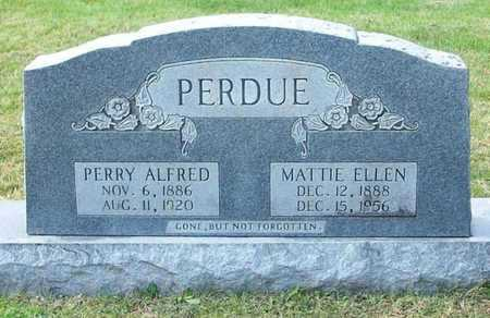 PERDUE, MATTIE ELLEN - Clinton County, Kentucky | MATTIE ELLEN PERDUE - Kentucky Gravestone Photos