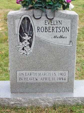 ROBERTSON, EVELYN - Clinton County, Kentucky | EVELYN ROBERTSON - Kentucky Gravestone Photos