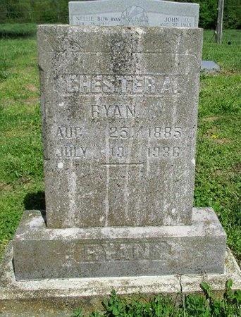 RYAN, CHESTER ARTHUR - Clinton County, Kentucky | CHESTER ARTHUR RYAN - Kentucky Gravestone Photos