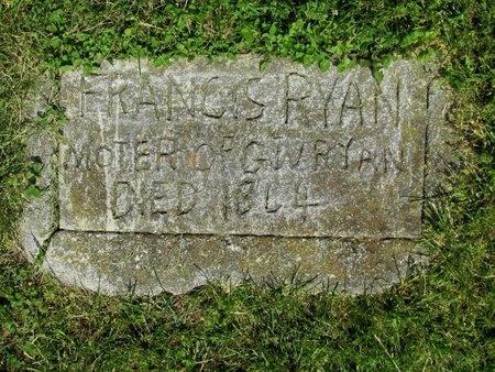 RYAN, FRANCIS - Clinton County, Kentucky   FRANCIS RYAN - Kentucky Gravestone Photos