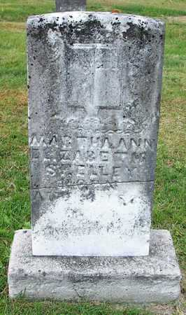 SHELLEY, MARTHA ANN ELIZABETH - Clinton County, Kentucky | MARTHA ANN ELIZABETH SHELLEY - Kentucky Gravestone Photos
