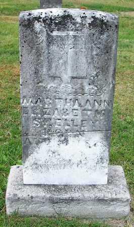 MYERS SHELLEY, MARTHA ANN ELIZABETH - Clinton County, Kentucky | MARTHA ANN ELIZABETH MYERS SHELLEY - Kentucky Gravestone Photos