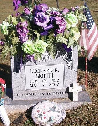 SMITH, LEONARD R - Clinton County, Kentucky | LEONARD R SMITH - Kentucky Gravestone Photos