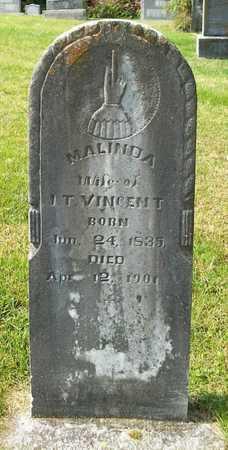 VINCENT, MALINDA - Clinton County, Kentucky | MALINDA VINCENT - Kentucky Gravestone Photos
