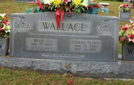SCOTT WALLACE, LORENE - Clinton County, Kentucky | LORENE SCOTT WALLACE - Kentucky Gravestone Photos