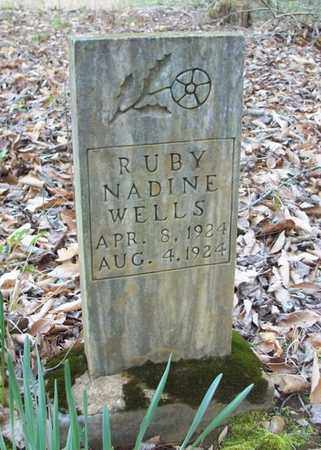 WELLS, RUBY NADINE - Clinton County, Kentucky | RUBY NADINE WELLS - Kentucky Gravestone Photos
