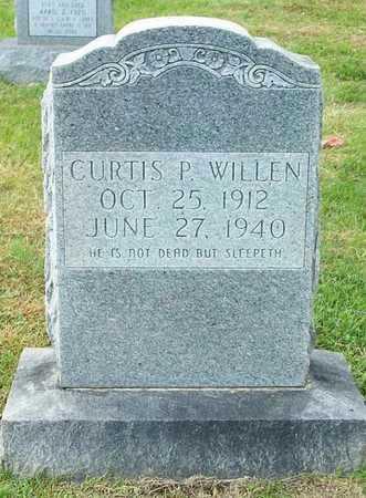 WILLEN, CURTIS P - Clinton County, Kentucky | CURTIS P WILLEN - Kentucky Gravestone Photos