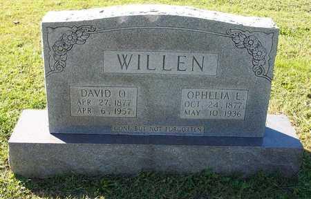 WILLEN, OPHELIA ELIZABETH - Clinton County, Kentucky   OPHELIA ELIZABETH WILLEN - Kentucky Gravestone Photos