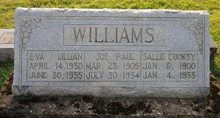 COOKSEY WILLIAMS, SALLIE - Clinton County, Kentucky | SALLIE COOKSEY WILLIAMS - Kentucky Gravestone Photos