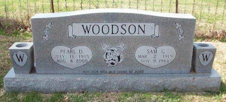 WOODSON, SAM G  - Clinton County, Kentucky | SAM G  WOODSON - Kentucky Gravestone Photos