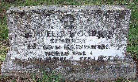 WOODSON (VETERAN WWI), SAMUEL R (VETERAN) - Clinton County, Kentucky | SAMUEL R (VETERAN) WOODSON (VETERAN WWI) - Kentucky Gravestone Photos