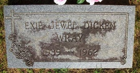 WRAY, EXIE JEWEL - Clinton County, Kentucky   EXIE JEWEL WRAY - Kentucky Gravestone Photos