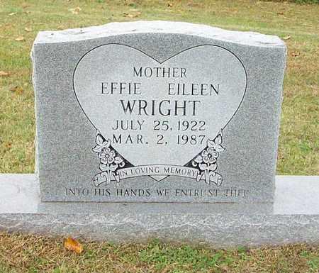 WRIGHT, EFFIE EILEEN - Clinton County, Kentucky | EFFIE EILEEN WRIGHT - Kentucky Gravestone Photos