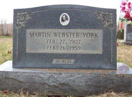 YORK, MARTIN WEBSTER - Clinton County, Kentucky | MARTIN WEBSTER YORK - Kentucky Gravestone Photos