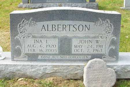 ALBERTSON, INA L - Clinton County, Kentucky | INA L ALBERTSON - Kentucky Gravestone Photos