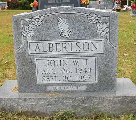 ALBERTSON, JR, JOHN WESLEY - Clinton County, Kentucky   JOHN WESLEY ALBERTSON, JR - Kentucky Gravestone Photos