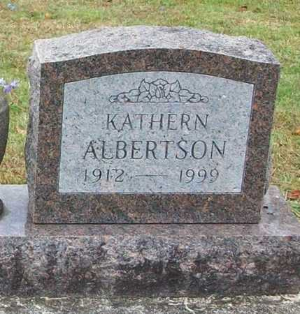 ALBERTSON, KATHERN - Clinton County, Kentucky | KATHERN ALBERTSON - Kentucky Gravestone Photos