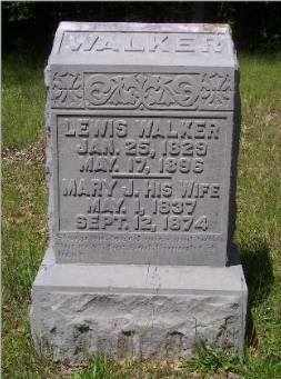WALKER, MARY J - Crittenden County, Kentucky | MARY J WALKER - Kentucky Gravestone Photos