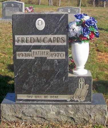 CAPPS, FRED V - Cumberland County, Kentucky | FRED V CAPPS - Kentucky Gravestone Photos