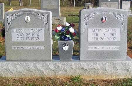 CAPPS, MARY F - Cumberland County, Kentucky   MARY F CAPPS - Kentucky Gravestone Photos