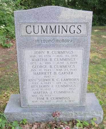 CUMMINGS, GEORGE B - Cumberland County, Kentucky | GEORGE B CUMMINGS - Kentucky Gravestone Photos