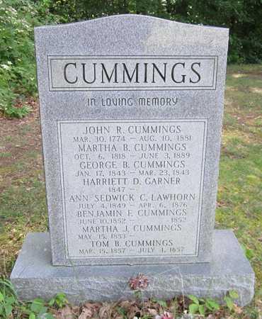 CUMMINGS, MARTHA J - Cumberland County, Kentucky | MARTHA J CUMMINGS - Kentucky Gravestone Photos
