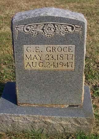GROCE, CHARLIE E - Cumberland County, Kentucky | CHARLIE E GROCE - Kentucky Gravestone Photos