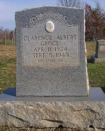 GROCE, CLARENCE ALBERT - Cumberland County, Kentucky | CLARENCE ALBERT GROCE - Kentucky Gravestone Photos
