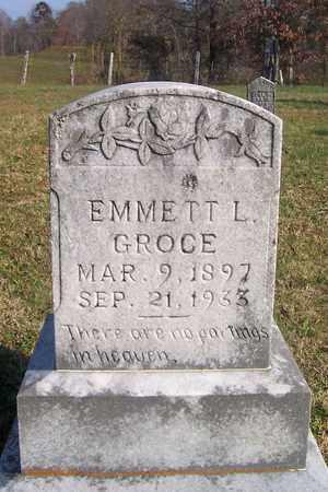 GROCE, EMMETT LESLIE - Cumberland County, Kentucky | EMMETT LESLIE GROCE - Kentucky Gravestone Photos