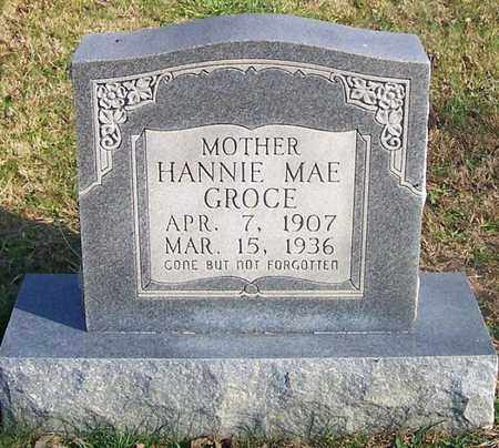 GROCE, HANNIE MAE - Cumberland County, Kentucky   HANNIE MAE GROCE - Kentucky Gravestone Photos