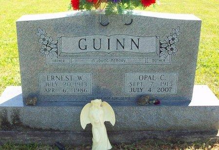 GUINN, ERNEST W - Cumberland County, Kentucky | ERNEST W GUINN - Kentucky Gravestone Photos