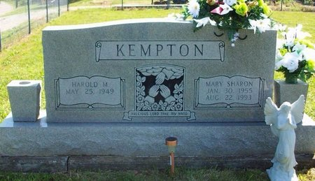GUINN KEMPTON, MARY SHARON - Cumberland County, Kentucky | MARY SHARON GUINN KEMPTON - Kentucky Gravestone Photos