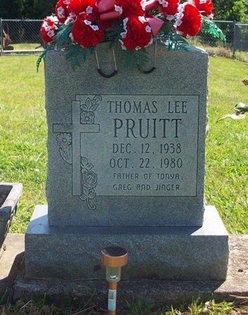 PRUITT, THOMAS LEE - Cumberland County, Kentucky | THOMAS LEE PRUITT - Kentucky Gravestone Photos