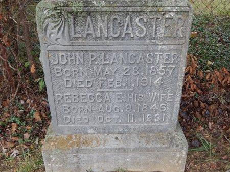 LANCASTER, JOHN P - Daviess County, Kentucky | JOHN P LANCASTER - Kentucky Gravestone Photos