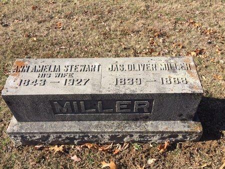MILLER, JAMES OLIVER - Daviess County, Kentucky | JAMES OLIVER MILLER - Kentucky Gravestone Photos