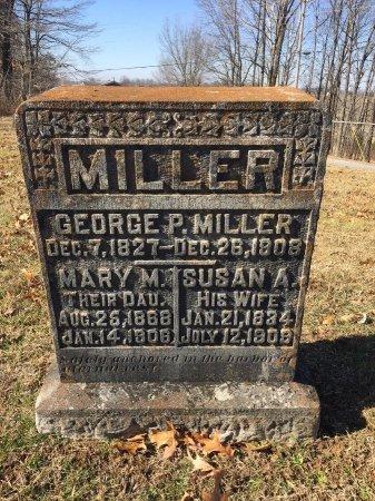 MILLER, GEORGE PARSON - Daviess County, Kentucky | GEORGE PARSON MILLER - Kentucky Gravestone Photos
