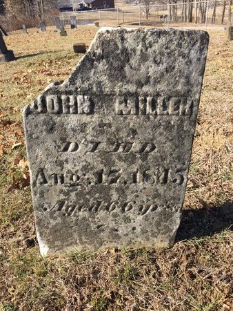 MILLER, JOHN - Daviess County, Kentucky | JOHN MILLER - Kentucky Gravestone Photos