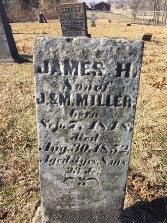 MILLER, JAMES H. - Daviess County, Kentucky | JAMES H. MILLER - Kentucky Gravestone Photos