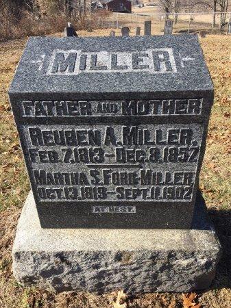 MILLER, MARTHA SARAH - Daviess County, Kentucky | MARTHA SARAH MILLER - Kentucky Gravestone Photos