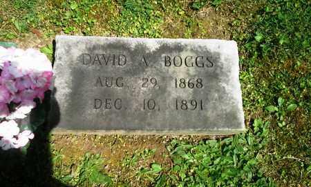 BOGGS, DAVID A - Elliott County, Kentucky | DAVID A BOGGS - Kentucky Gravestone Photos