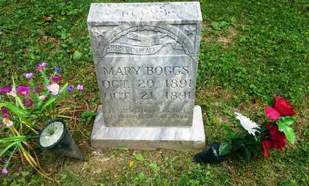 BOGGS, MARY - Elliott County, Kentucky | MARY BOGGS - Kentucky Gravestone Photos