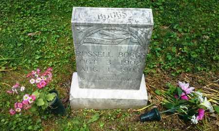 BOGGS, RUSSELL - Elliott County, Kentucky   RUSSELL BOGGS - Kentucky Gravestone Photos