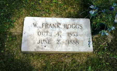 BOGGS, W FRANK - Elliott County, Kentucky   W FRANK BOGGS - Kentucky Gravestone Photos